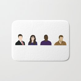 TV Characters Bath Mat