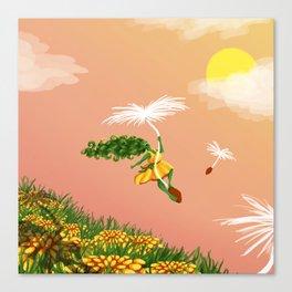Dandelion Adventure Canvas Print