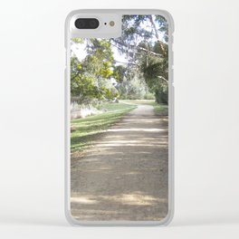 Path By The Lake Clear iPhone Case