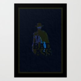 """""""The Man With No Name"""" is a Badass Art Print"""