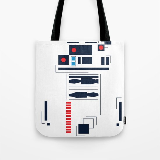 R2D2 Abstract Tote Bag
