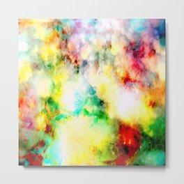 Fume Color Splash 01 Metal Print