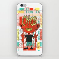 chaos iPhone & iPod Skins featuring Chaos by Tshirt-Factory