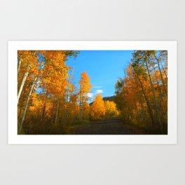 A Road Less Travelled Art Print