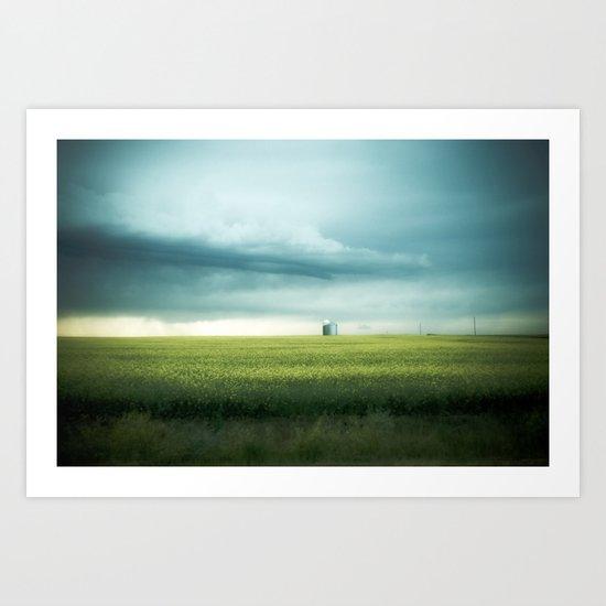 Alberta Prairies Art Print