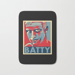 """Roy Batty """"Hope"""" poster Bath Mat"""