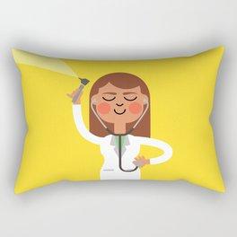 Dr. Doctor Rectangular Pillow