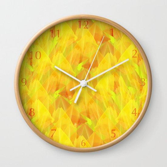 Tulip Fields #106 Wall Clock
