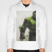 water colour Hoodies featuring Water Colour Hulk by Scofield Designs