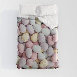 eggs color Duvet Cover