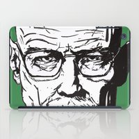 walter white iPad Cases featuring Walter White by Leamartes