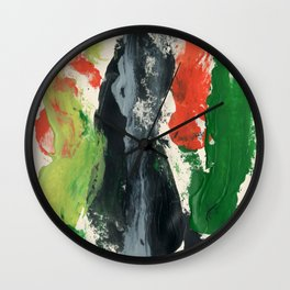 Desert Wash Wall Clock