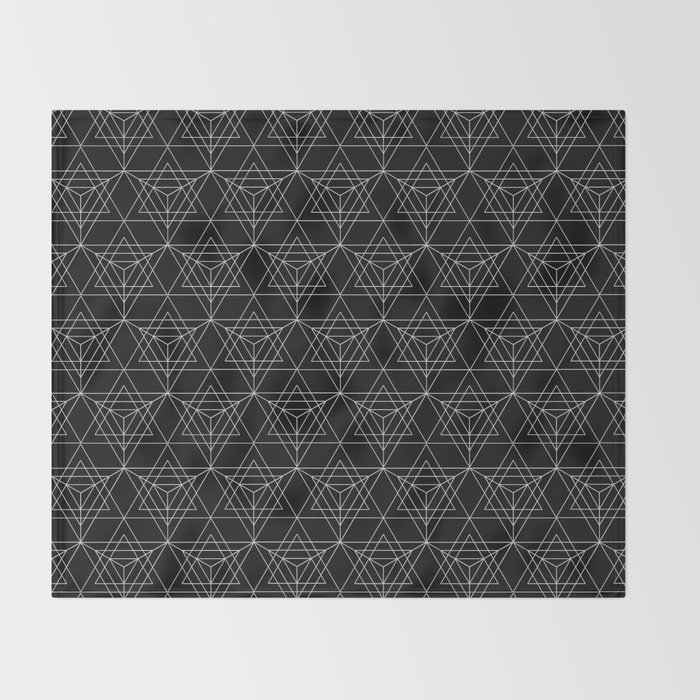 The Cube Throw Blanket