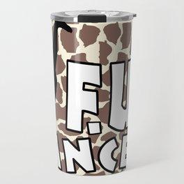 Team Bennett - FU CANCER! Travel Mug