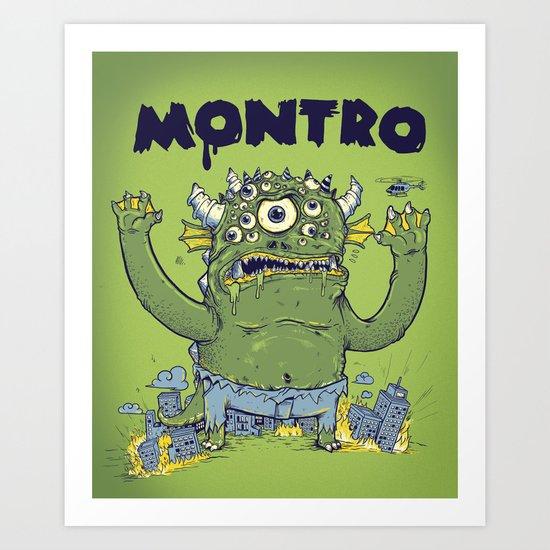 Montro Art Print