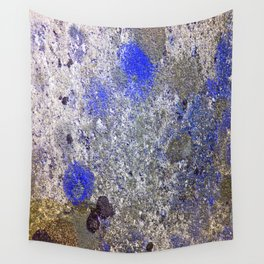Blue Moss Wall Tapestry