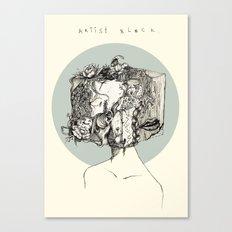 art block Canvas Print