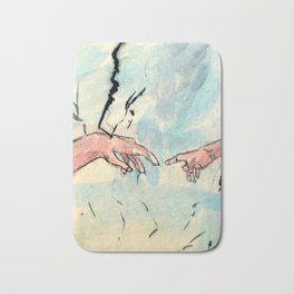 The Creation of Art Bath Mat