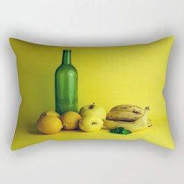 Lemon lime - still life Rectangular Pillow