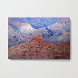 Grand Canyon Evening Ridge Metal Print