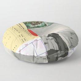 Collage Collection Floor Pillow