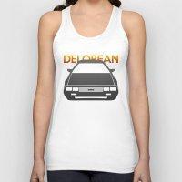 delorean Tank Tops featuring DeLorean DMC–12 by Vehicle