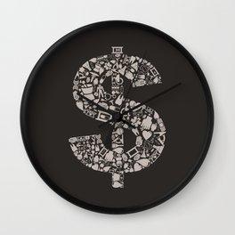 Medicine dollar Wall Clock
