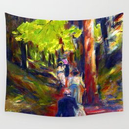 Max Liebermann Forest Walk Wall Tapestry