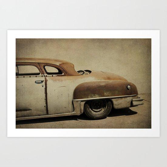 Rusty Chrysler De Soto Art Print