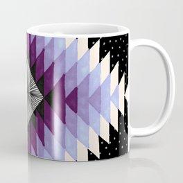 Cosmic Eye - Peach/Plum Coffee Mug