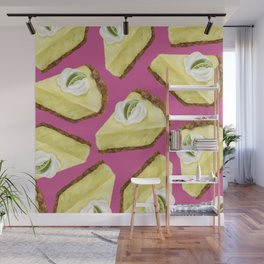 Key lime pie Wall Mural