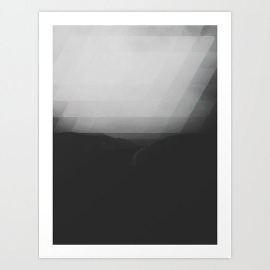 Modern Haze Art Print