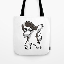 Funny Dabbing Havanese Dog Dab Dance Tote Bag