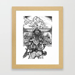 Deathbringer Framed Art Print