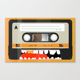 The cassette tape golden tooth Canvas Print
