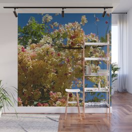 Wilhelmina Tenney Rainbow Shower Tree Wall Mural