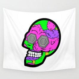 Psych Skull Wall Tapestry
