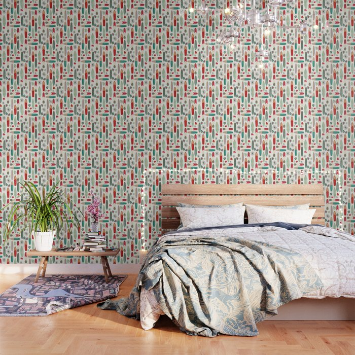 Surf S Up In The 1950 S Wallpaper By Gingerlique