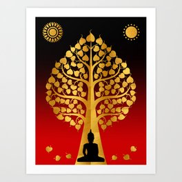 Bodhi Tree0402 Art Print