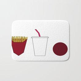 Aqua teen hunger force minimalist  Bath Mat