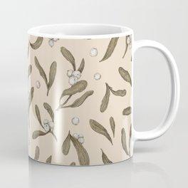 Mistletoe Pattern Coffee Mug
