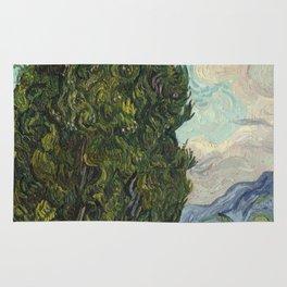 Cypresses Rug