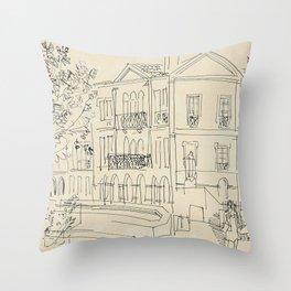 Raoul Dufy Alyscamps en Arles Throw Pillow