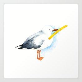 Seagull - Natural Born Lovers Art Print
