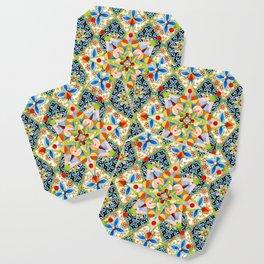Elizabethan Blossom Starburst Coaster