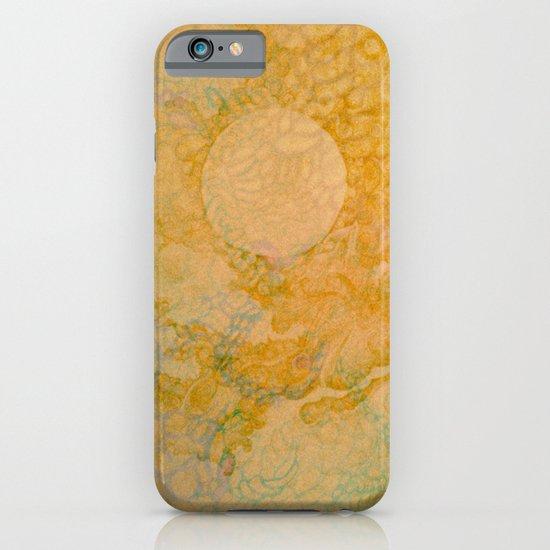 Orange moon iPhone & iPod Case