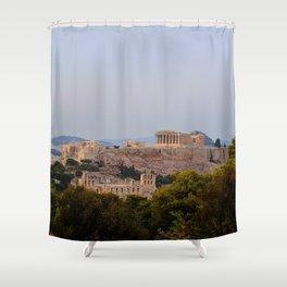 Lavender Haze Shower Curtain
