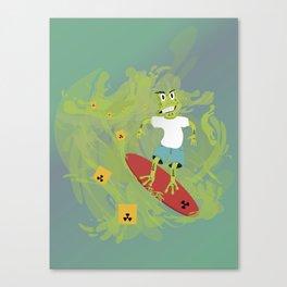 Toxictoad Canvas Print