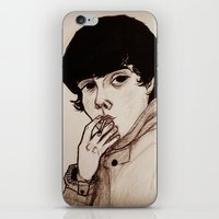 jake iPhone & iPod Skins featuring Jake by Julio César