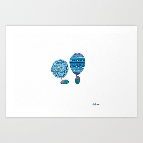 Conversation, XI Art Print